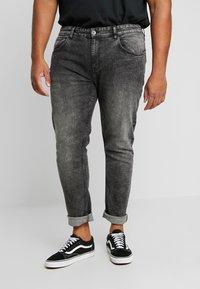 URBN SAINT - BERLIN - Slim fit jeans - acid black - 0