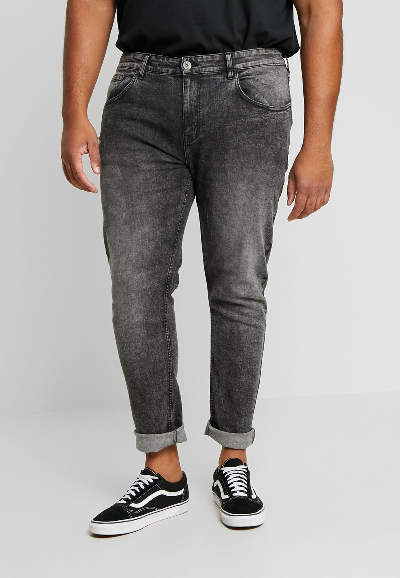 URBN SAINT - BERLIN - Jeans slim fit - acid black