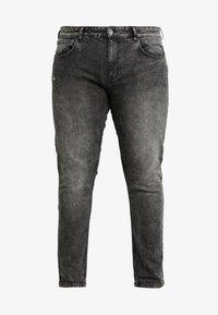 URBN SAINT - BERLIN - Slim fit jeans - acid black - 4