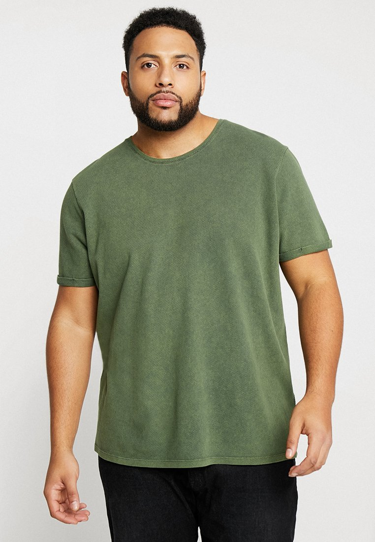 URBN SAINT - BIRCH TEE - Basic T-shirt - rosin