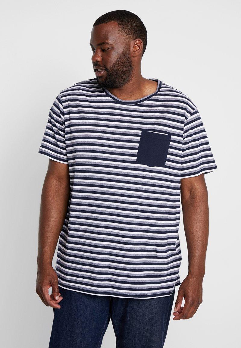 URBN SAINT - MILAN TEE - T-shirt con stampa - navy