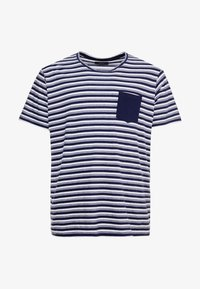 URBN SAINT - MILAN TEE - T-shirt print - navy - 4