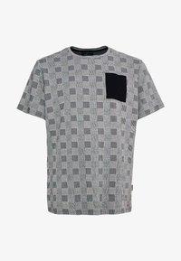 URBN SAINT - DALLAS TEE - Print T-shirt - black - 4
