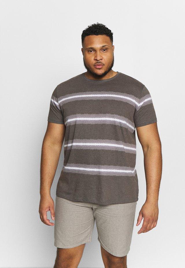 USTURN TEE - T-shirt print - black