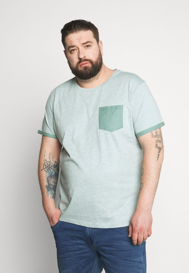 TEE - Basic T-shirt - duck green