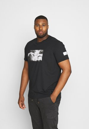 USGEORGE TEE - Print T-shirt - black