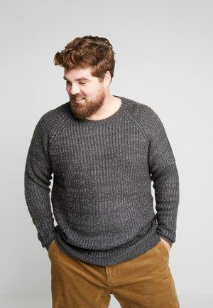 US TATE - Sweter - anthracite melange