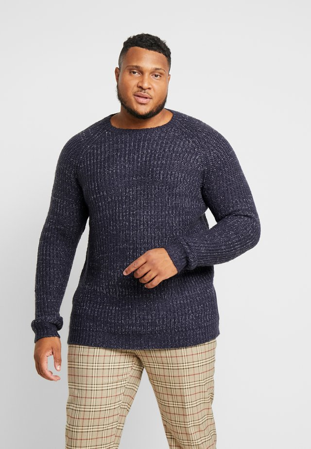 US TATE - Jumper - navy melange