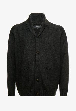 USPIER KNIT - Cardigan - antracit grey