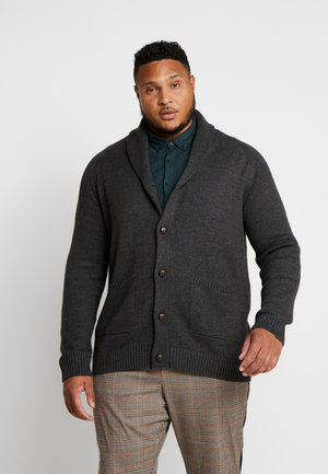 USPIER KNIT - Kardigan - antracit grey