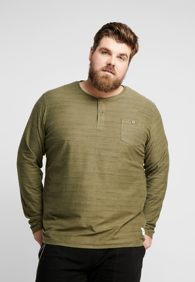 FORREST - Long sleeved top - dark olive