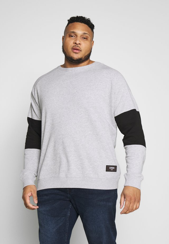 USRACK - Sweatshirt - light grey melange