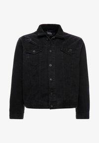 URBN SAINT - USCURTIS JACKET - Denim jacket - black - 3