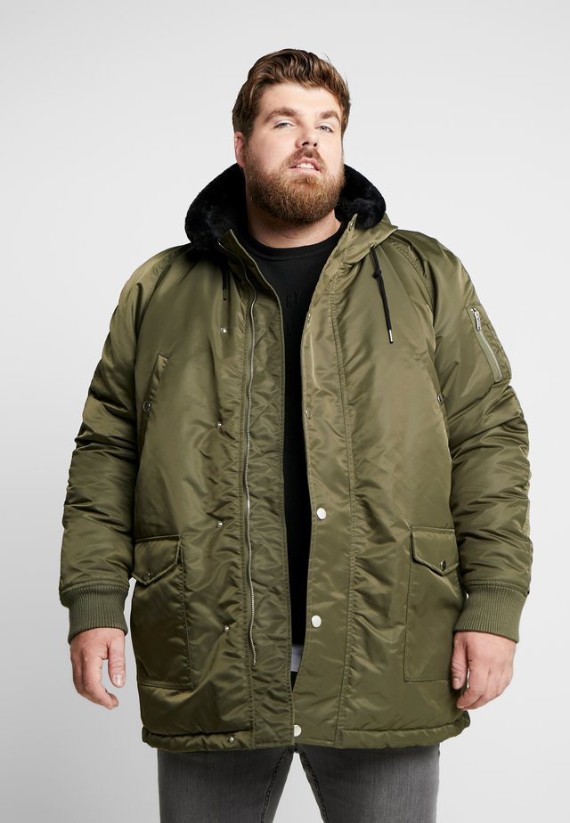 JACKET - Parka - dark olive