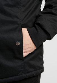 URBN SAINT - FLETCHER JACKET - Lehká bunda - black - 5