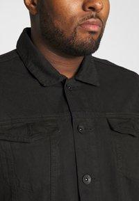 URBN SAINT - USARNE JACKET - Giacca di jeans - black - 5