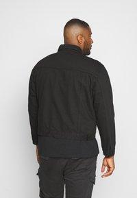 URBN SAINT - USARNE JACKET - Giacca di jeans - black - 2