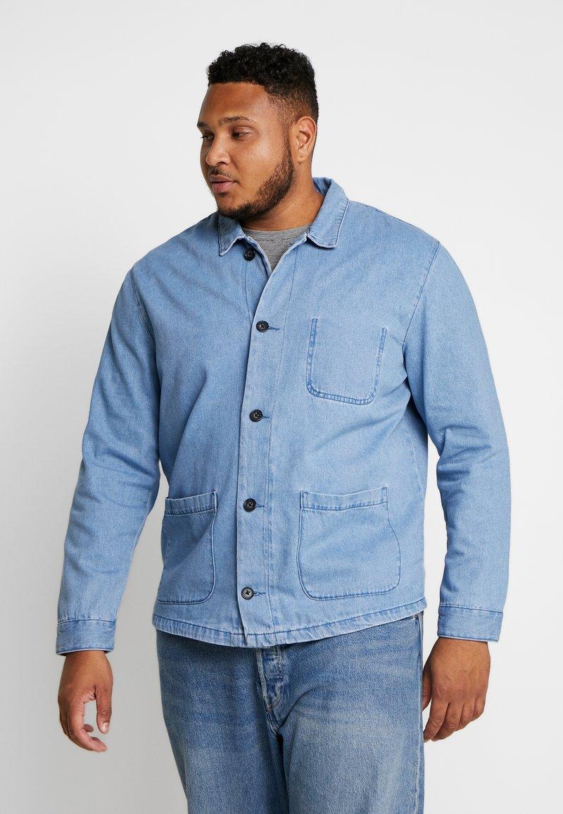 URBN SAINT - USCARLSSON  - Veste en jean - light blue