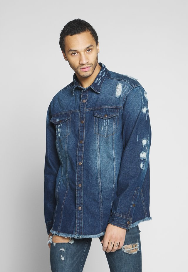 JACKIE JACKET - Denim jacket - dark blue