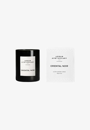 LUXURY BOXED GLASS CANDLE - Scented candle - oriental noir