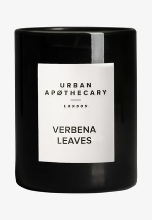 LUXURY BOXED GLASS CANDLE - VERBENA LEAVES - Duftlys - -