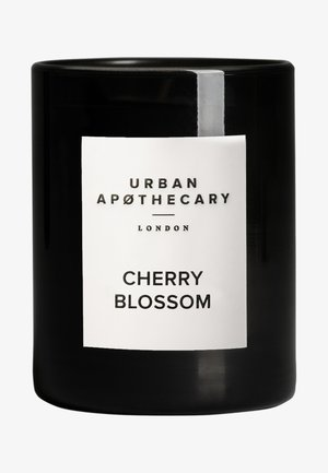 LUXURY BOXED GLASS CANDLE - CHERRY BLOSSOM - Duftlys - -