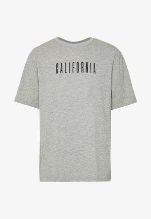 CALIFORNIA TEE - T-shirt imprimé - grey