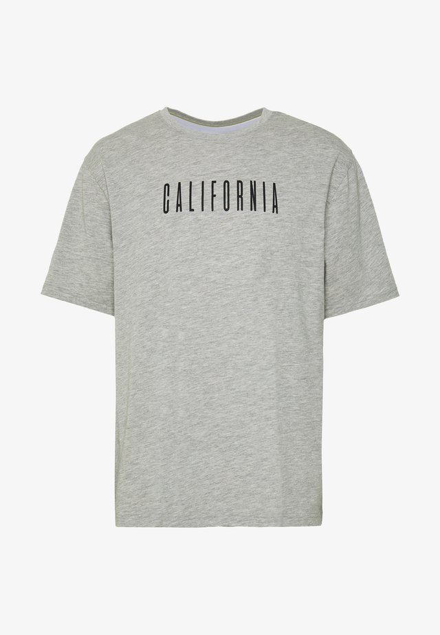 CALIFORNIA TEE - T-shirt con stampa - grey