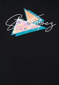 Urban Threads - ST TROPEZ GRAPHIC TANK UNISEX - Top - black - 2