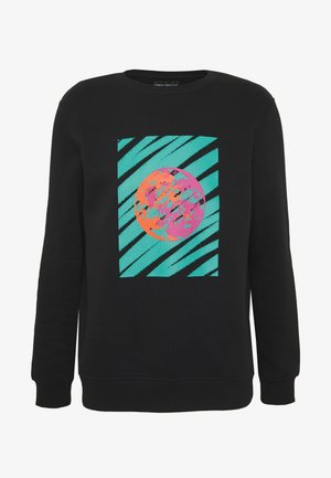 FRONT & BACK GRAPHIC UNISEX  - Sweatshirt - black