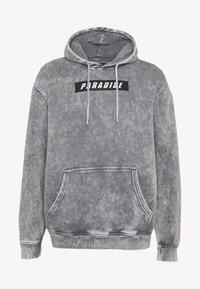 Urban Threads - ACID WASH HOODY  UNISEX - Sweatshirt - grey - 4