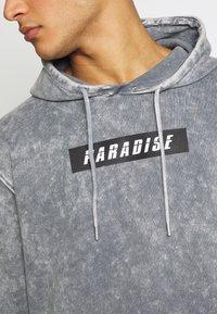 Urban Threads - ACID WASH HOODY  UNISEX - Sweatshirt - grey - 5