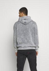 Urban Threads - ACID WASH HOODY  UNISEX - Sweatshirt - grey - 2