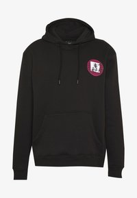 Urban Threads - FRONT BACK GRAPHIC HOODY - Mikina skapucí - black - 5