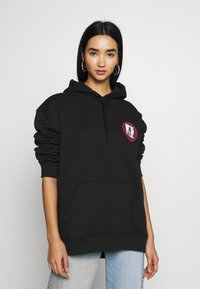 Urban Threads - FRONT BACK GRAPHIC HOODY - Mikina skapucí - black - 4