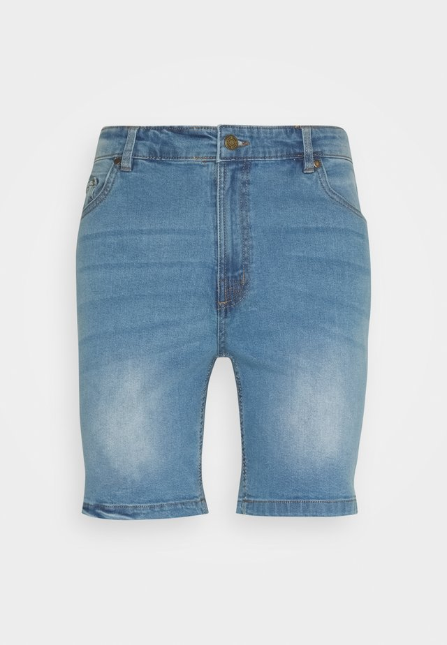 Short - blue denim