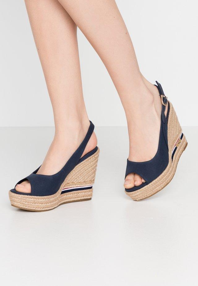 AFRODITE - High heeled sandals - dark blue