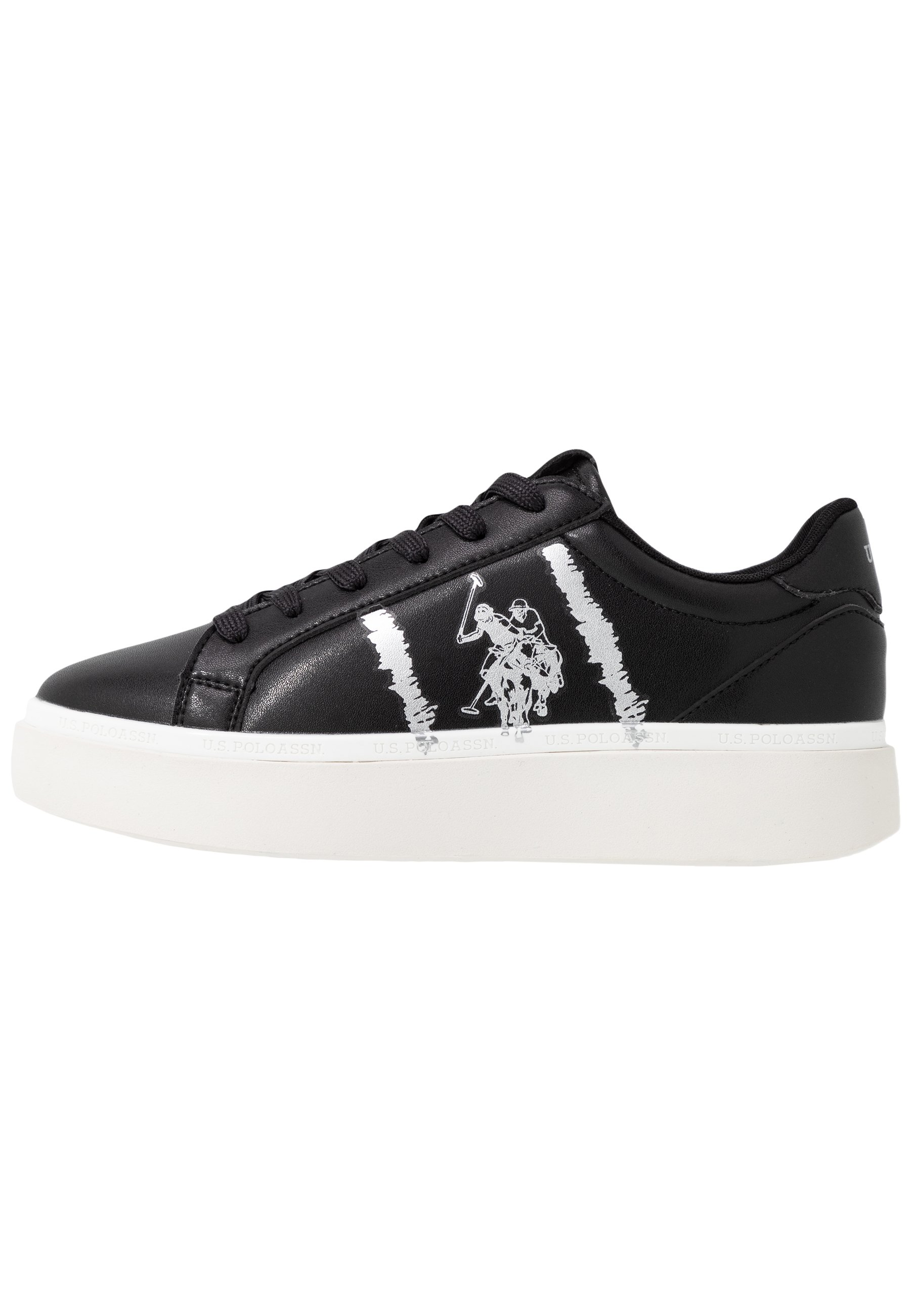 U.S. Polo Assn. BLANCH - Baskets basses - black