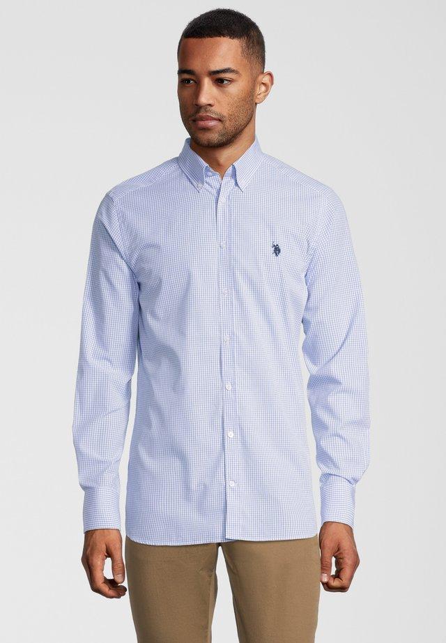 HERREN - Shirt - blue check