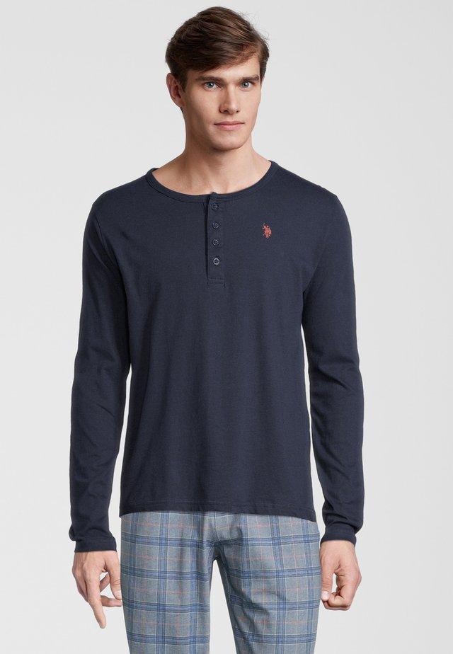 HENLEY - Sweatshirt - navy