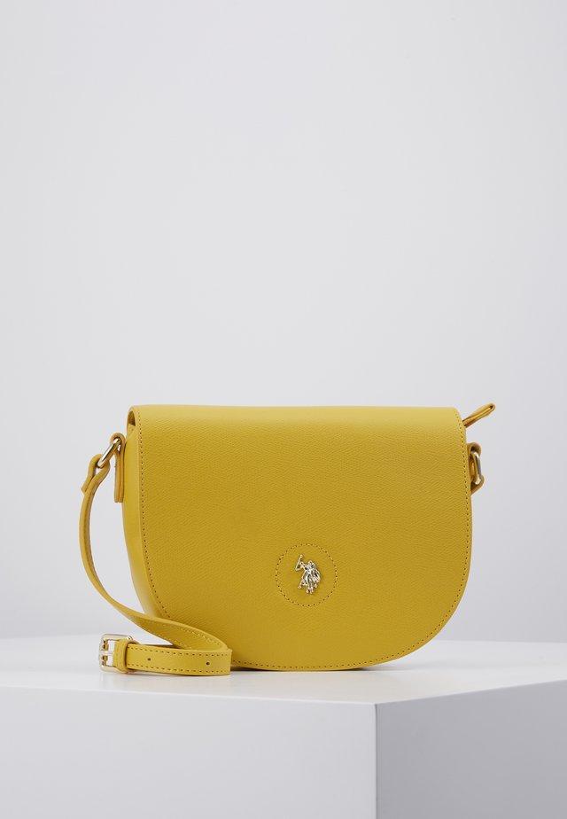 JONES - Across body bag - yellow