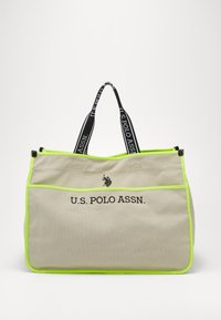 U.S. Polo Assn. - HALIFAX - Shopping bag - beige/ yellow - 0