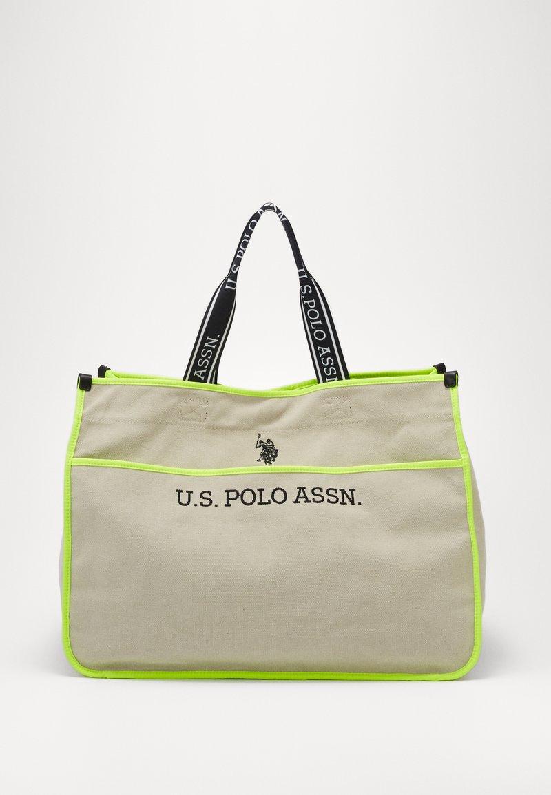 U.S. Polo Assn. - HALIFAX - Shopping bag - beige/ yellow