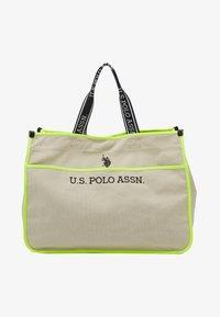 U.S. Polo Assn. - HALIFAX - Shopping bag - beige/ yellow - 4