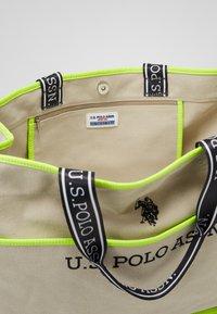 U.S. Polo Assn. - HALIFAX - Shopping bag - beige/ yellow - 3