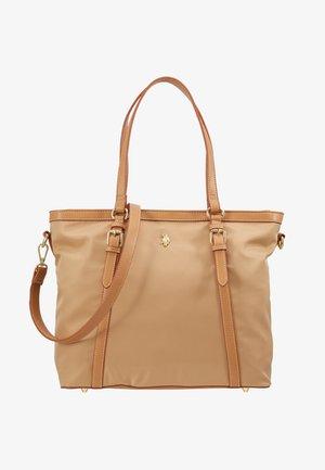 HOUSTON - Handbag - beige