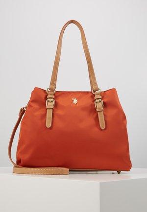HOUSTON - Handtas - orange/beige