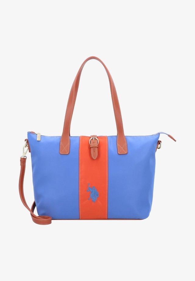 PATT - Handtasche - light blue/orange
