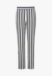 Uta Raasch - Pantalon classique - ecru/marine - 5