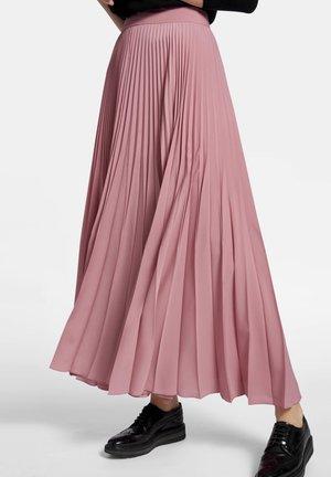 MIT SEITENREISSVERSCHLUSS - Plooirok - light pink